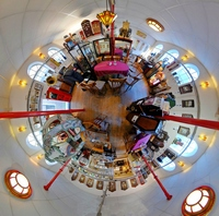 WAK in Little Planet projectie